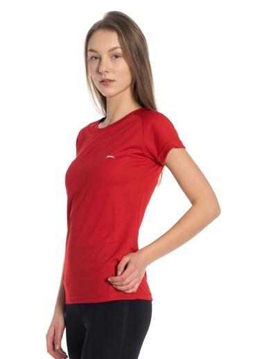 Slazenger Kadın RELAX Tişört ST10TK007-600 Kırmızı